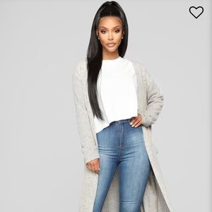 Fashion Nova Foolish Games Cardigan NWT